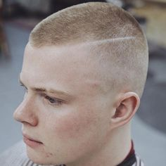 Marine Haircut - Buzz Cut
