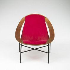 520: Ico Parisi / lounge chair < Modernist 20 Century; c. 1970s; Colombari Collection, 06 December 2005 < Auctions | Wright