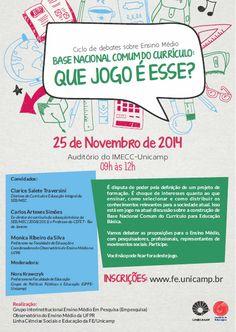 Blog do Sérgio: Ciclo de Debates sobre Ensino Médio - Base Naciona...