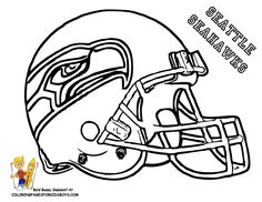 Free Seattle Seahawks Coloring page; Have kids color and add to PL album. Description from pinterest.com. I searched for this on bing.com/images