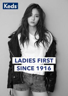 Krystal is one chic lady in 'Keds' 'LADIESFIRST' campaign | allkpop.com