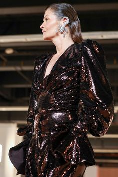 Balmain Ready To Wear Fall Winter 2020 Paris Men Fashion Show, Live Fashion, Runway Fashion, Mens Fashion, Paris Look, Balmain Paris, Helena Christensen, Supermodels, Ready To Wear