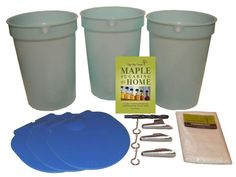 #maplesyrup. Gonna try this at home! Starter Kit with Plastic Buckets