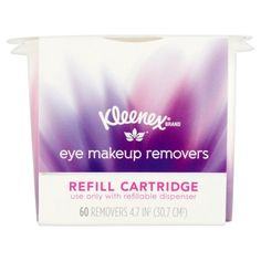Kleenex Moist Facial Cleansing Wipes, Refillable Dispenser & Wipes Thalgo - Marine Infusion Mask (Salon Product) - 12 Treatments