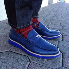 ColeHaan Lunargrand Penny Loafers. MEAN.