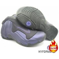 outlet store 5285c a57d9 Nike Air Flightposite One Purple Black Cheap Nike Roshe, Nike Shoes Cheap,  Roshe Shoes