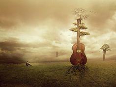 Photo Manipulations by Amandine Van Ray | Cuded