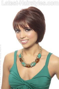 Short Hairstyle with Layers