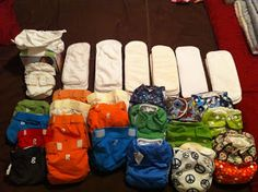 How Erin scored an entire cloth diaper stash for $75!!