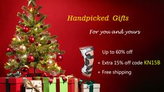 Handpicked gifts for you and yours Up to 60% off + extra 15% off code: KN15B [Ends 12/25/2016] + Free Shipping #orthomenkneebrace #kneebrace #kneebraceonline #Christmasday