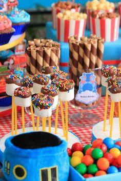 Thomas Train Birthday Party | CatchMyParty.com