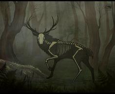 Swamp Spirit by NatalieDeCorsair.deviantart.com on @DeviantArt