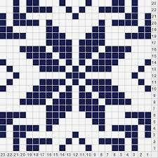10 Best Images of Snowflake Fair Isle Charts - Knitting Fair Isle Pattern Charts, Fair Isle Snowflake Knitting Pattern Charts and Fair Isle Snowflake Knitting Chart Tapestry Crochet Patterns, Fair Isle Knitting Patterns, Crochet Motifs, Knitting Charts, Crochet Chart, Loom Knitting, Knitting Stitches, Knitting Designs, Free Knitting