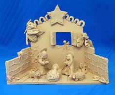 brick nativity