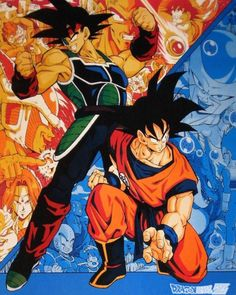 Dragon Ball / Bardock & Goku / Father and son