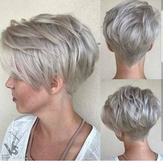 Collection Of Ash Blonde Pixie With Nape Undercut 100 Mind Blowing Short Hairstyles For Fine Hair Pixies - 2018 New Hairstylescuts Choppy Pixie Cut, Edgy Pixie Cuts, Short Choppy Haircuts, Long Pixie Hairstyles, Choppy Fringe, Asymmetrical Pixie, Natural Hairstyles, Shaggy Pixie, Popular Hairstyles