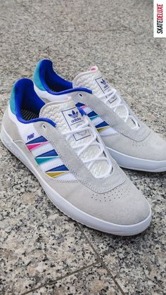 New Colorway for probably the most technical shoe from adidas Skateboarding! Skate Shoe Brands, Skate Shoes, New Skate, Shoe Releases, Converse, Vans, Nike Sb, Adidas, Skateboarding