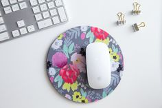 Brighten up a desk with blooms that always look fresh, courtesy of Bridge City Blooms Mouse Pad by Caitlin Wilson Textiles.  $14, caitlinwilson.com