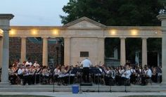 Paris Municipal Band Concerts at Bywaters Park -- the oldest municipal band in Texas!