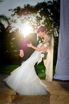 Morgan and Matt look beautiful together.  A perfect photo for a perfect day. Courtesy of Rowe Photography