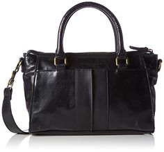 Liebeskind Berlin Molly Satchel Bag, Black, One Size *** Learn more by visiting the image link.