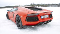 Lambo Aventador - when I see this, it makes me want to go back to Boston, but only if I can have this car