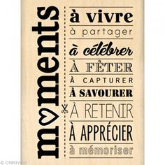 Tampon moments a celebrer French Words, French Quotes, Tampon Scrapbooking, E Mc2, Rockabilly Pin Up, Empowerment Quotes, Messages, Tampons, Positive Attitude