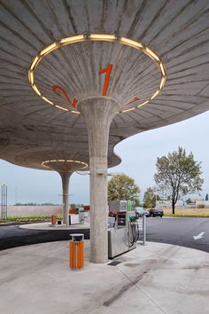 Gas Station by Atelier SAD