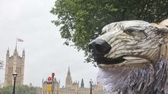 Honestly, I imagined a giant Dalek terrorising London first. But a giant polar bear isn't half as bad. Last September 15, London was recently visited by a three-ton polar bear created from reclaimed materials and operated by a team of puppeteers. The polar bear's name is Aurora. She was commissioned by Greenpeace to raise awareness […]