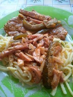 Visegrádi pecsenye Meat Recipes, Cooking Recipes, Hungarian Recipes, Hungarian Food, European Cuisine, Food 52, No Cook Meals, Bacon, Paleo