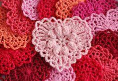 Grandma's Heart: free #crochet #heart pattern: