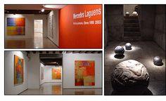 obras de Mercedes Laguens y Nicola Constantino expuestas en el Casal Solleric