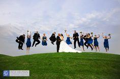 www.RickHelmanPhoto.com  bridal party wedding photo