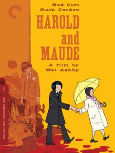 harold and maude (1971) had many interesting movie posters and jacket designs in different countries over the years