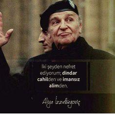Aynen öyle  #bilgekral #aliyaizzetbegovic