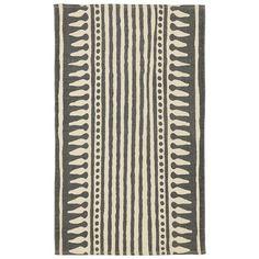 Rajasthan stripe rug from West Elm