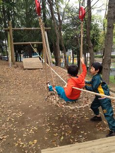 Marketing Japan: The Best Children's Sports Park and Obstacle Course in Tokyo! Marketing Japan: The Best Children's Sports Park and Obstacle Course in Tokyo! Kids Outdoor Play, Outdoor Play Areas, Kids Play Area, Outdoor Learning, Outdoor Fun, Natural Playground, Backyard Playground, Kids Gardening Set, Backyard Obstacle Course
