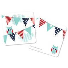 Owl Bunting Tags