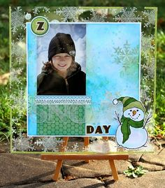 paper, ink and smiles: Snow Day... Clear Scraps (12 x 12 Acrylic Sheet, Alphabet and Numbers) #clearscraps