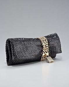 Chandra Chain Clutch by Jimmy Choo at Neiman Marcus.