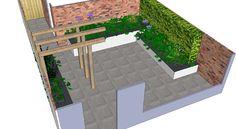 1000 images about tuin on pinterest city gardens met and amsterdam - Luifel ontwerp voor patio ...