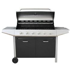 Flamemaster Ultimate Chef 6-Burner Gas Barbecue https://www.uk-rattanfurniture.com/product-category/garden-tools/