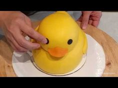Custom cakes by Delicious Arts Los Angeles Ducky Baby Showers, Baby Shower Duck, Boy Baby Shower Themes, Rubber Duck Cake, Rubber Duck Birthday, Rubber Ducky Party, Boys 1st Birthday Cake, Foundant, Suitcase Cake