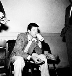 Jerry Lewis backstage/ AS1966