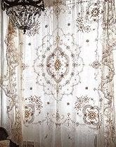 Must find fine lace curtain for screen