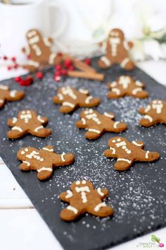 Gingerbread Cookies are a must have during the holidays. This Autoimmune Protocol (AIP) friendly recipe is the perfect replacement for your traditional recipe. Get it along with a FREE 50 page ebook full of Paleo treats and drinks for the holidays. Gluten Free Gingerbread Cookies, Dairy Free Cookies, Dairy Free Eggs, Egg Free, Paleo Dessert, Gluten Free Desserts, Dairy Free Recipes, Real Food Recipes, Dessert Recipes