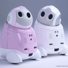 PaPeRo NEC personal robot