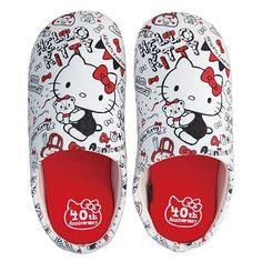 Hello Kitty 40th Anniversary Slippers Room Shoes Indoor Sanrio from Japan Gift