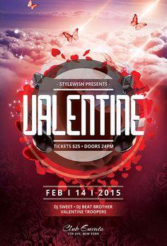 Valentine Flyer   por styleWish studio