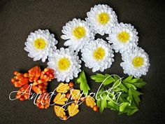 Осінній букет для нареченої. ч.2 Квіти та листочки. Осенний букет для невесты. ч.2 Цветы и листочки - YouTube